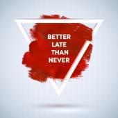 Motivace trojúhelník plakát