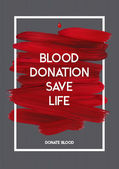 Blood Donor motivation donor poster
