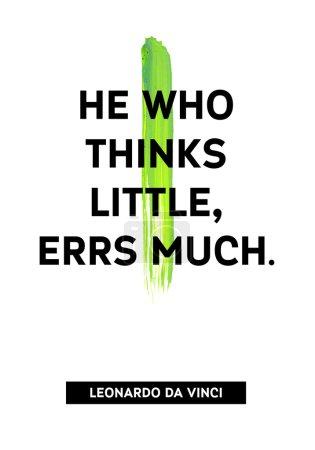 Motivation acrylic stroke poster
