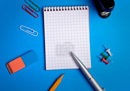Office utensil on background