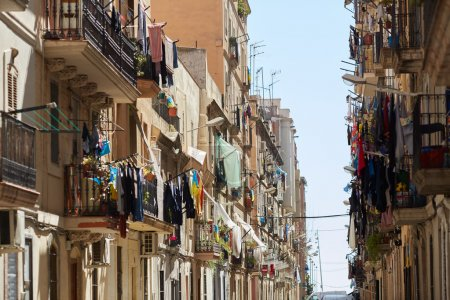 Street and architecture of Barcelona