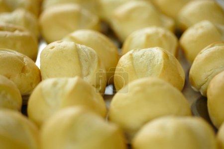 fresh pastries, baguette