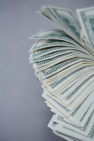 dollars money fan