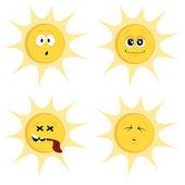 Letní slunce maskoti