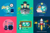 Set of great flat icons design illustration concepts for business finance marketing internet marketing and e-commerce promo web and much more The set can be used for several purposes like: websites print templates presentation templates pro