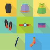 Set of great flat icons design illustration concepts for business finance marketing internet marketing and e-commerce promo web and much more