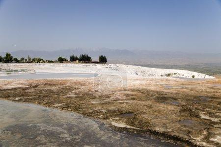 Pamukkale Turkey Mineral deposits of