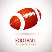 American football design elements EPS 10 vector grouped for easy editing
