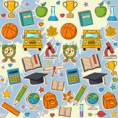 School pattern on blots