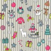 Vector Christmas pattern