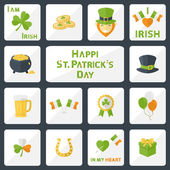 St Patricks Day set