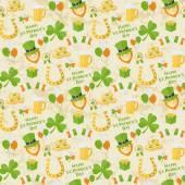 St Patricks Day pattern