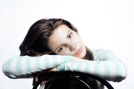 Teenage Girl Looking
