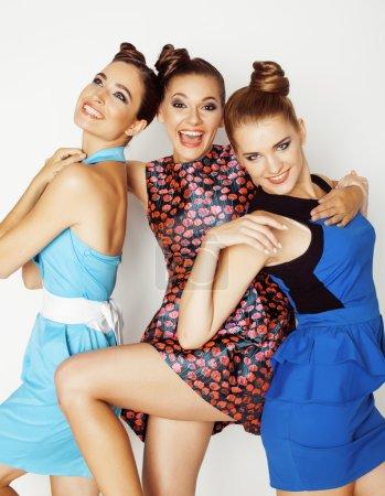 group of diverse stylish ladies