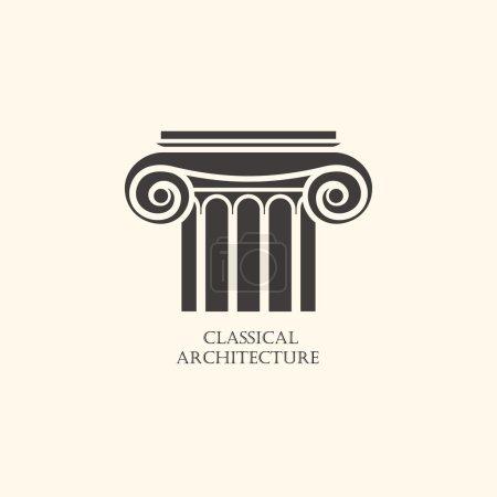 Elemento de columna clásica
