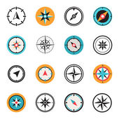 Wind rose compasses