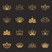 Lotus symbol icons
