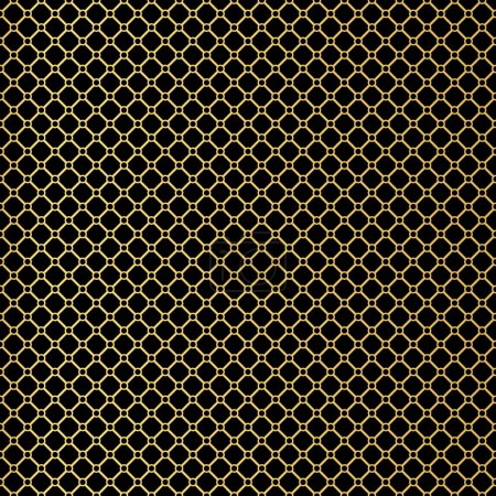 Art Deco seamless vintage wallpaper pattern. Geometric lace deco