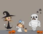 Halloween Family 001