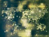 Ilustrace mapa světa