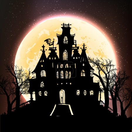 Haunted castle on the moon