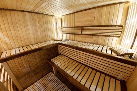 Photo pour Cabine de sauna - image libre de droit