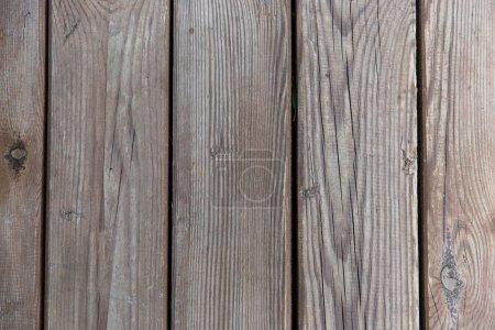 Photo for Wood plank gray texture, wooden fence panels, close-up background - Royalty Free Image