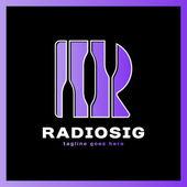 Letter R Logo - Radio Signal