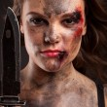 Постер, плакат: Strong female killer