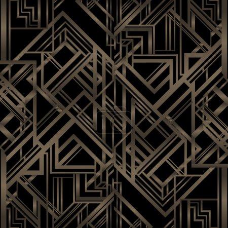 Vintage background. Retro style pattern
