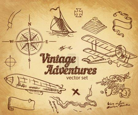Vintage Adventures, Design elements