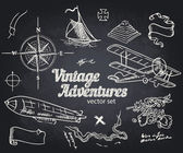 Vintage Adventures Design elements