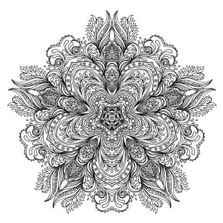 Mandala. Round pattern
