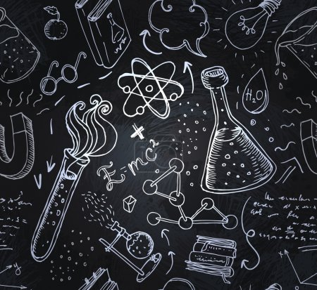 Back to School: science lab objects