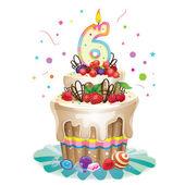 Šťastné narozeniny dort 6