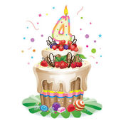 Happy Birthday cake 4