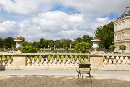 Photo for The beautiful view of the Luxembourg Gardens in Paris, France - Royalty Free Image