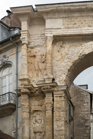 BESANCONS, FRANCE/EUROPE - SEPTEMBER 13: Detail of the Arch lead