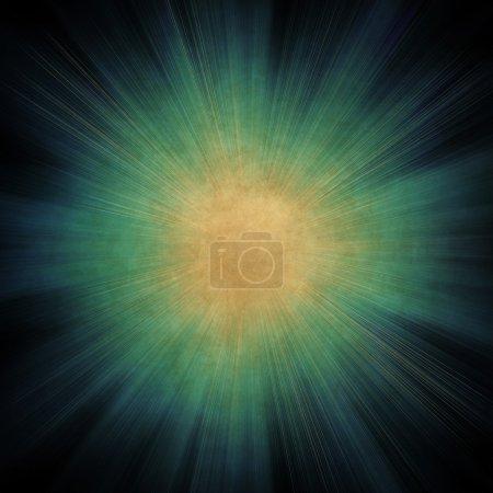 Photo pour Fond abstrait avec des rayons de lumière - image libre de droit