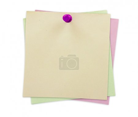 Sticky Notes isolated