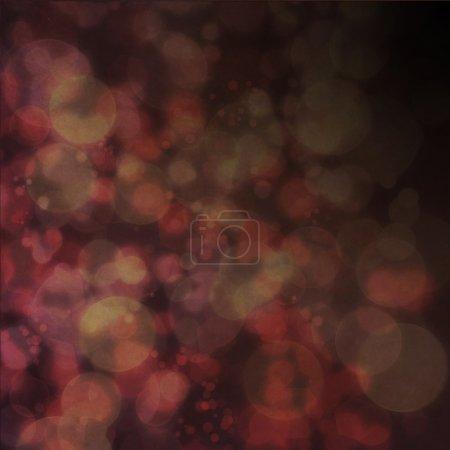 Background with bokeh defocused lights