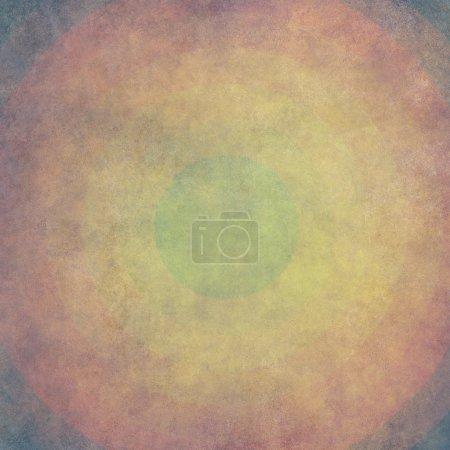 Photo pour Fond grunge multicolore avec cercles - image libre de droit