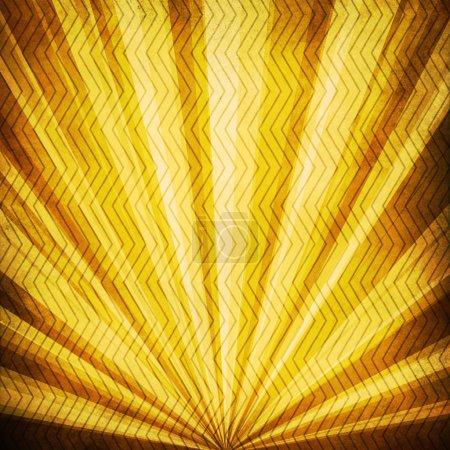 Vintage Sunbeams grunge background