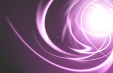 abstract background with blurred light rays