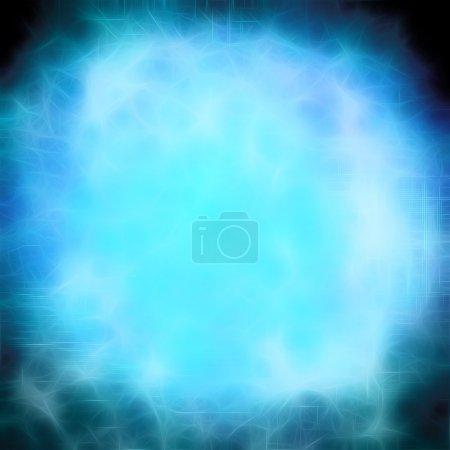 blurred magic neon lights background