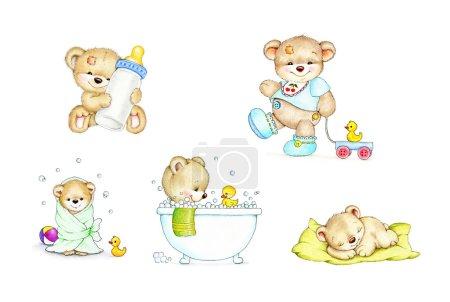 Cute baby teddy bears