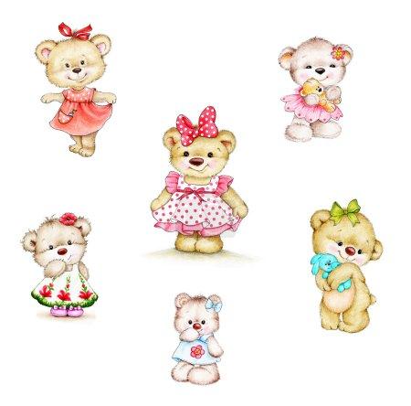 Teddy bear girls