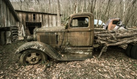 Old Dodge Pickup Truck
