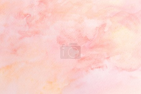 Watercolor background on paper texture