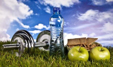 Photo pour Fitness et mode de vie sain - image libre de droit